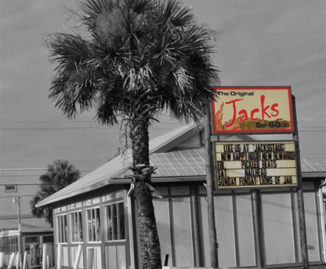 Jacks Bar-B-Que Advertisement